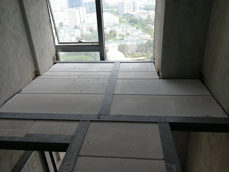 Loft公寓alc加气墙板安装---攸州建筑