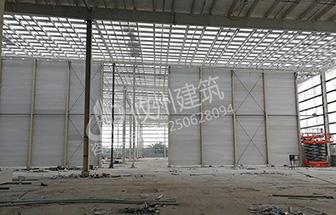 深圳坪山沃尔玛普洛斯物园ALC超高防火墙