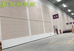 东莞普洛斯ALC板材清水墙横装案例