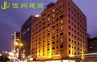 深圳新乐酒店轻质复合墙板安装案例