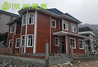 ALC板材装配式别墅安装案例