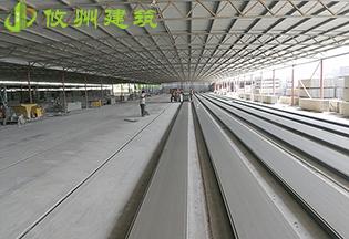 GRC空心水泥墙板生产工艺