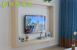 轻质隔墙板怎样挂电视