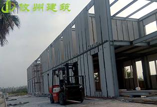 深圳华强北轻质隔墙安装案例