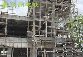 广东惠州兴鸿昌工业园轻质节能复合墙板安装