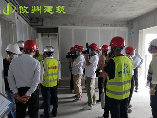 深圳宝安39区项目ALC板施工观摩会
