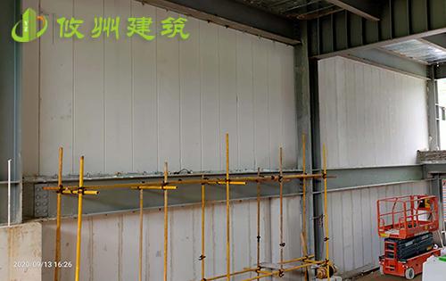 深圳本焕学院ALC板安装项目