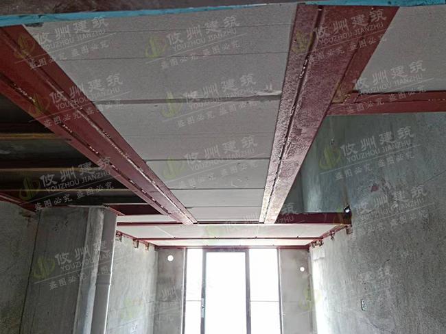 惠州江北海伦堡沉台空心水泥板安装